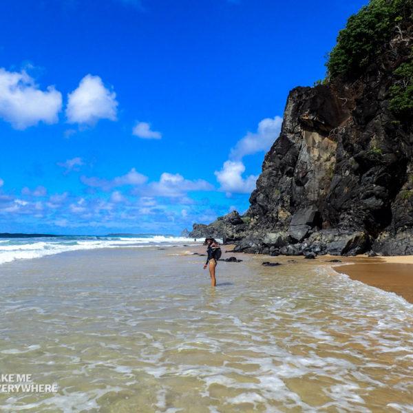 Walk before the high tide