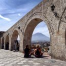 Nice viewpoint in Arequipa