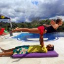 During this small break we had the time to learn some ACRO YOGA moves with our friends Any & Alexi / Colombia