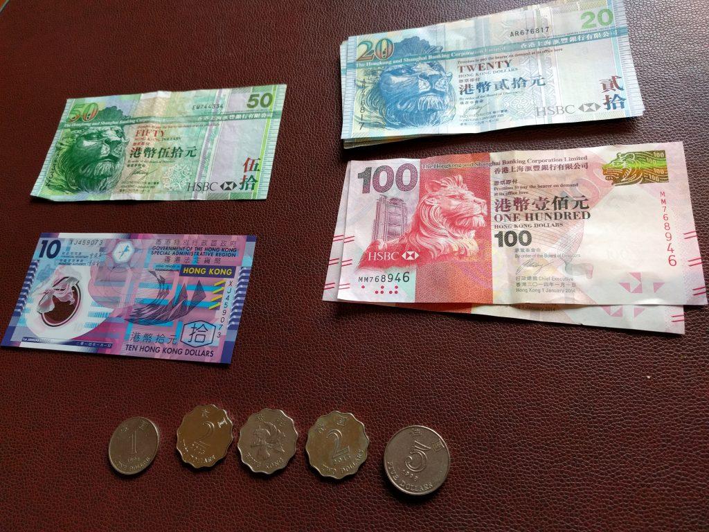 香港ドルお札