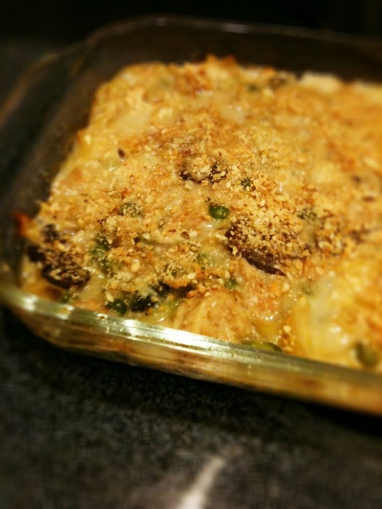 Comfort Food: Tuna Casserole