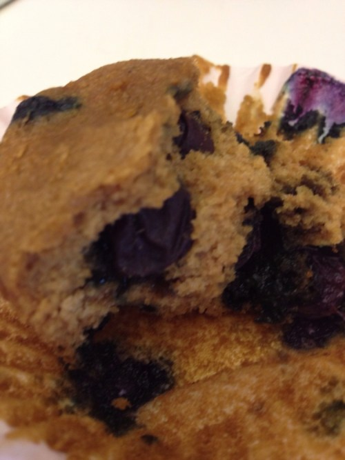 Brunch Week Day 2: Blueberry Vanilla Muffins