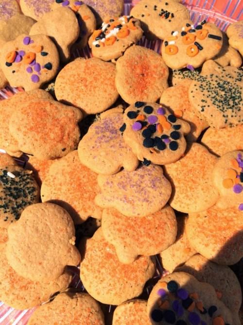 Pumpkin Cut-out Cookies for #SundaySupper
