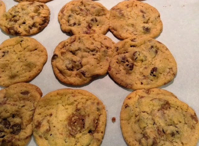 Cake Batter Chocolate Chip & Peanut Butter Cup Cookies