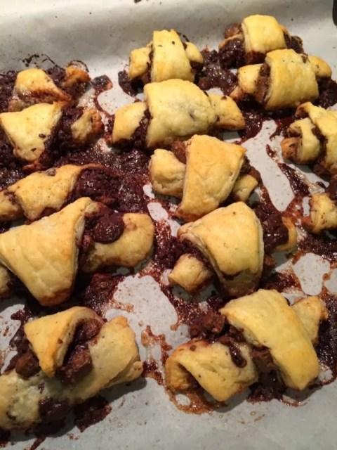 Pumpkin Rugelach for #LeftoversClub