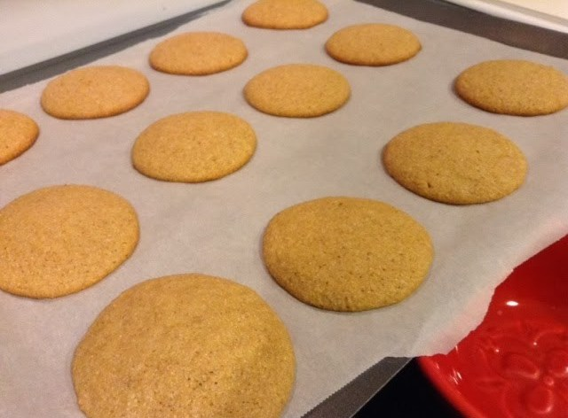 Rum and Eggnog Spiced Cookies #MerryChristmas!