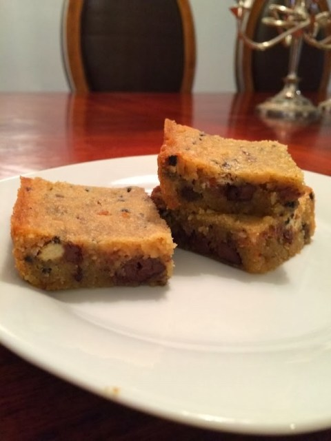 Chocolate Chip Cookies and Cream Bars