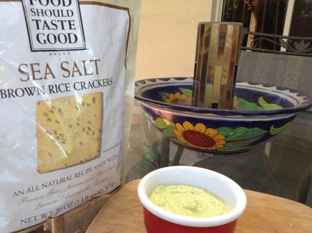 Edamame Hummus for #SundaySupper