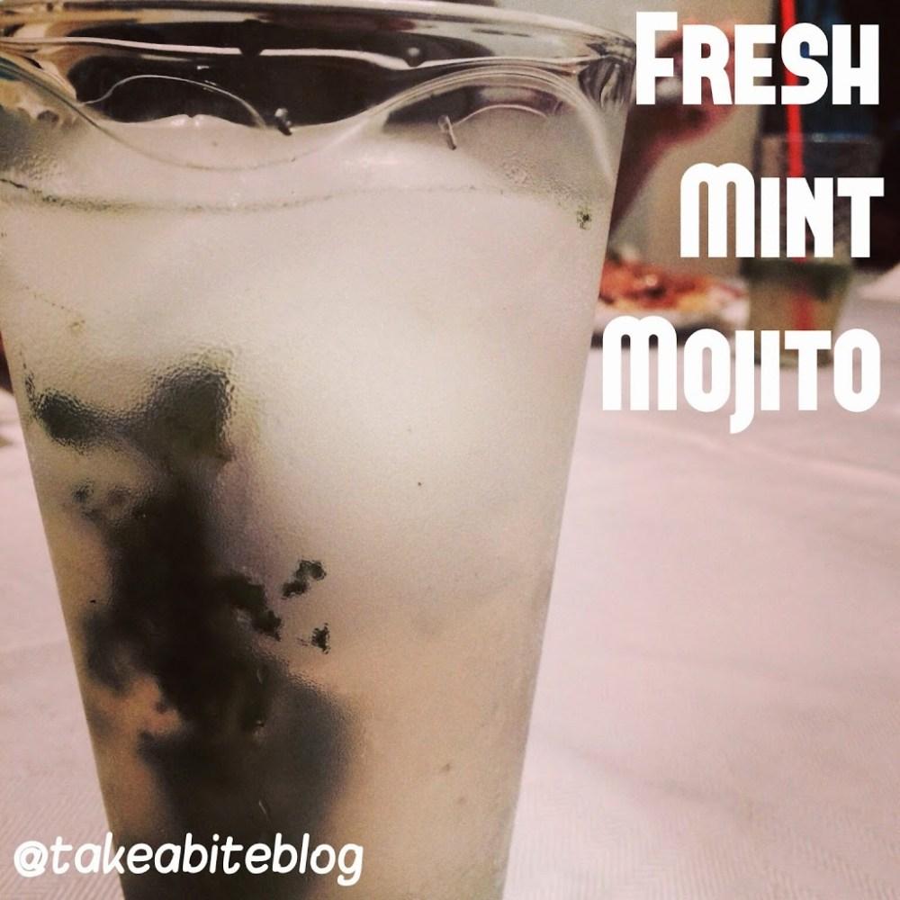 Fresh Mint Mojitos