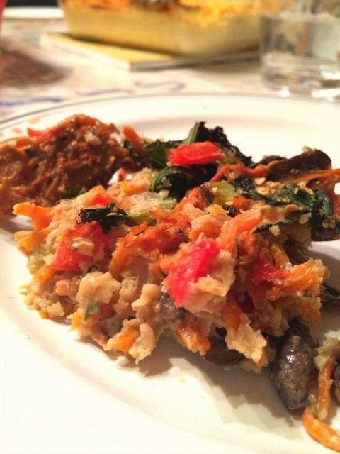 Passover Kugel: Veggie Style #SundaySupper