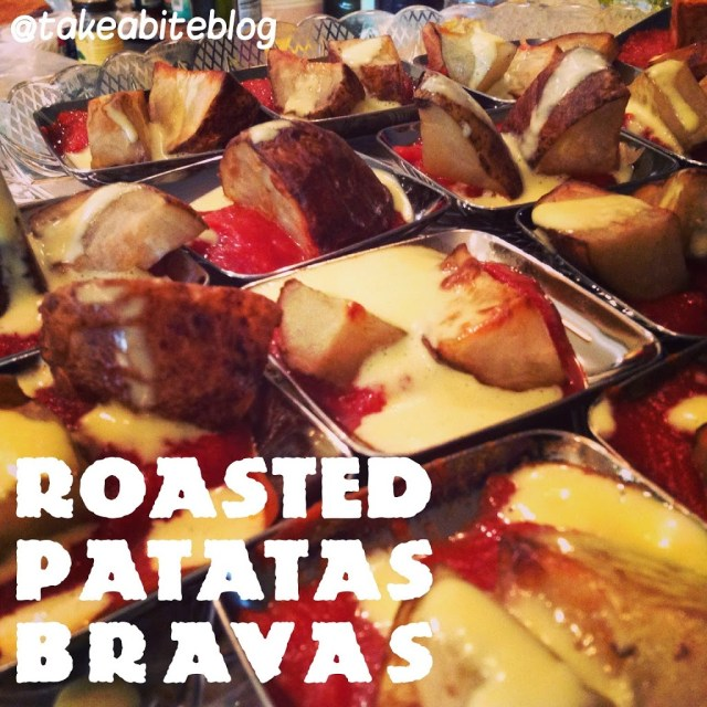 Tapas Party: Roasted Patatas Bravas