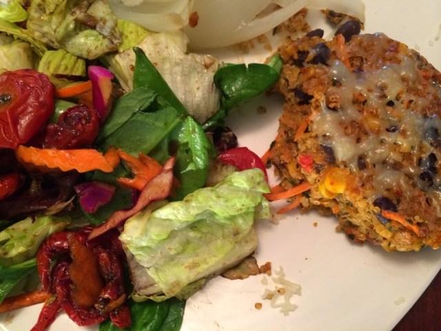 Southwestern Quinoa and Black Bean Patties