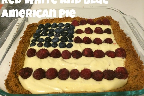 Happy July 4th! Red White and Blue American Pie