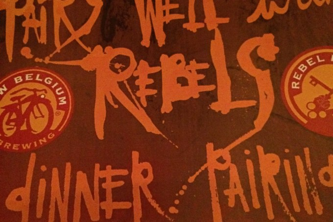 The Rebel House Pairing Dinner with New Belgium Brewery