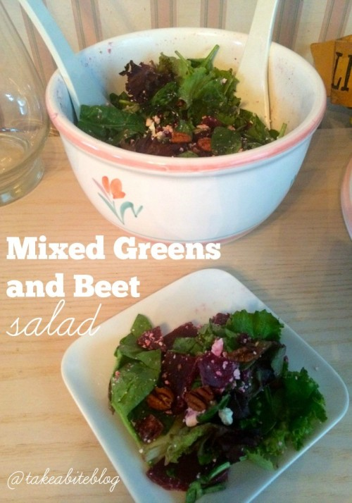 Mixed Greens and Beet Salad
