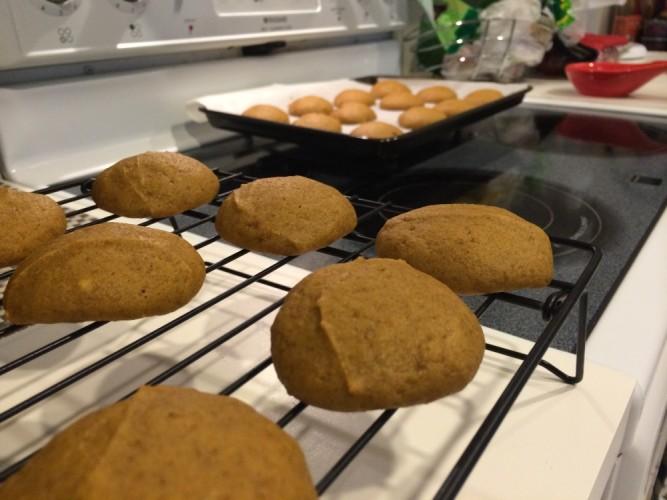 classic pumpkin cookies