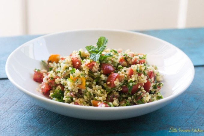 Quinoa Taboulleh from The Little Ferarro Kitchen