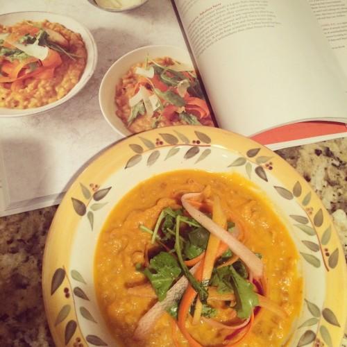 The Skinnytaste Cookbook Creamy Carrot Farroto