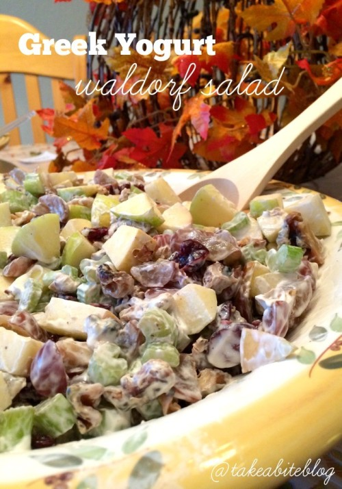 greek yogurt waldorf salad