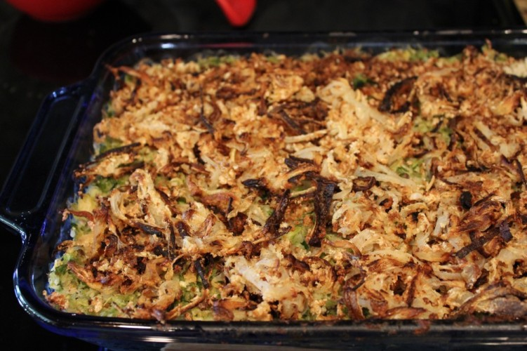 shredded brussels sprouts casserole