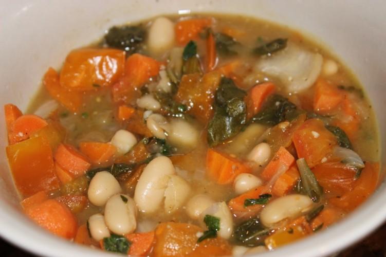 tomato-basil soup with vanilla #vanillaweek