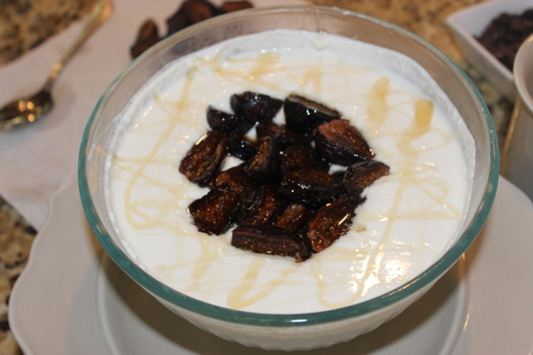 Whipped Yogurt and Ricotta with Figs and Honey #Brunchweek