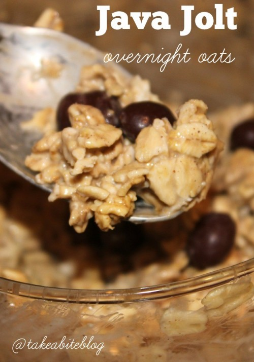 Java Jolt Overnight Oats #Brunchweek