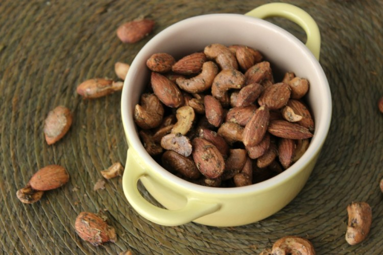 Rosemary and Thyme Roasted Nuts