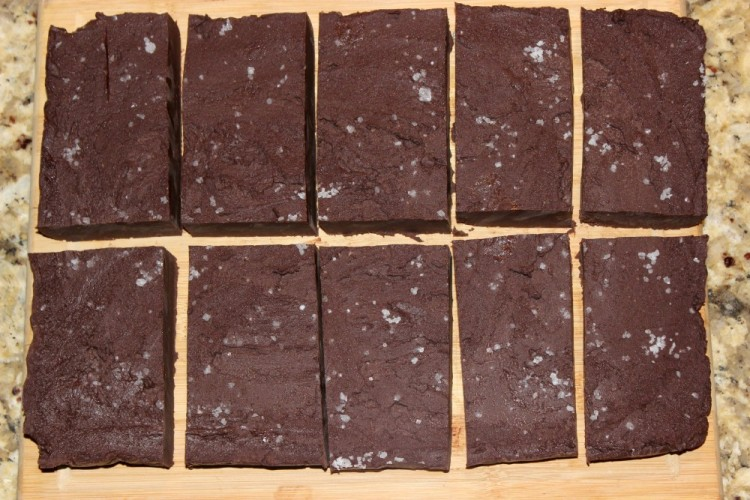 Dark Chocolate Sea Salted Fudge