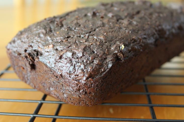 Chocolate Coconut Zucchini Bread #LeftoversClub