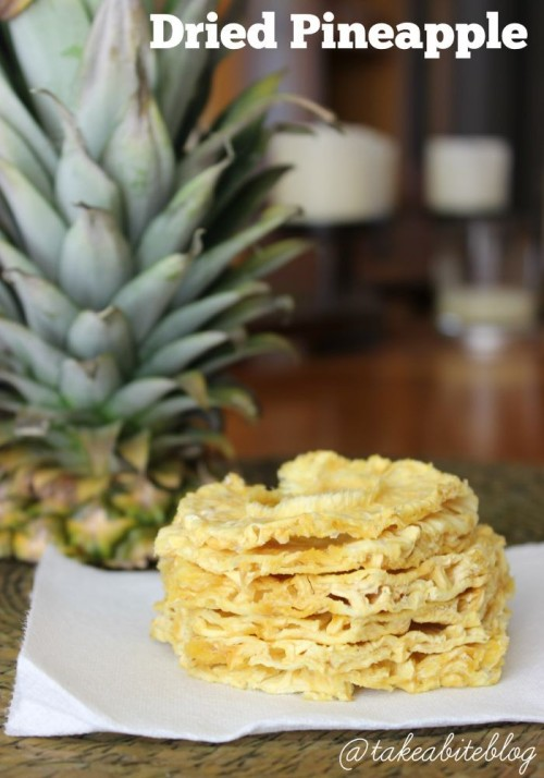Saving Summer: Dried Pineapple #SundaySupper