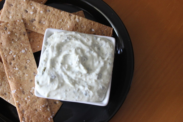Herbed Garlic and Parmesan Dip