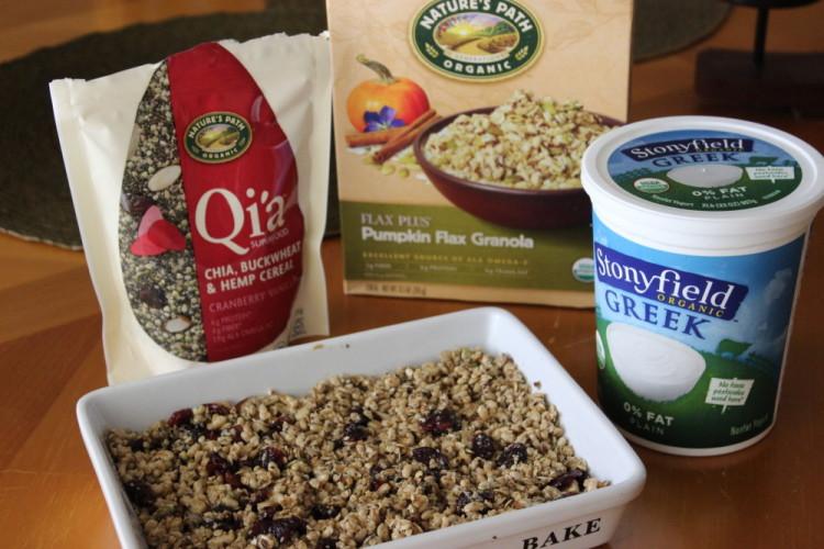 Greek Yogurt-Dipped Granola Bars #stonyfieldblogger