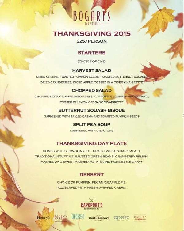 Bogart's Thanksgiving 2015 In-house Menu_8.5x11