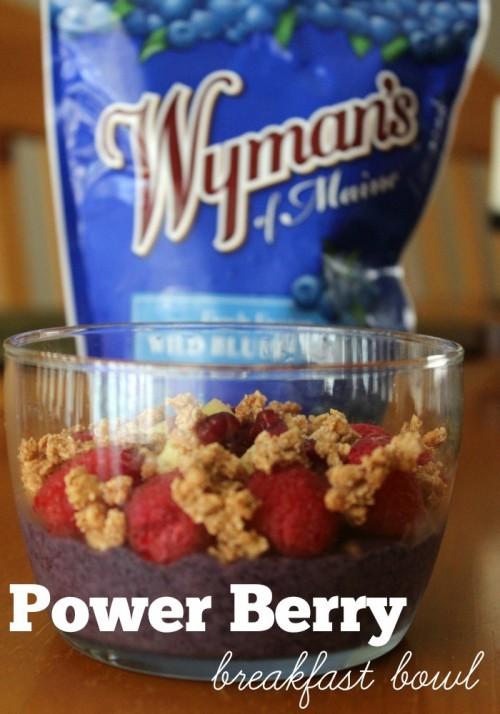 Power Berry Breakfast Bowl