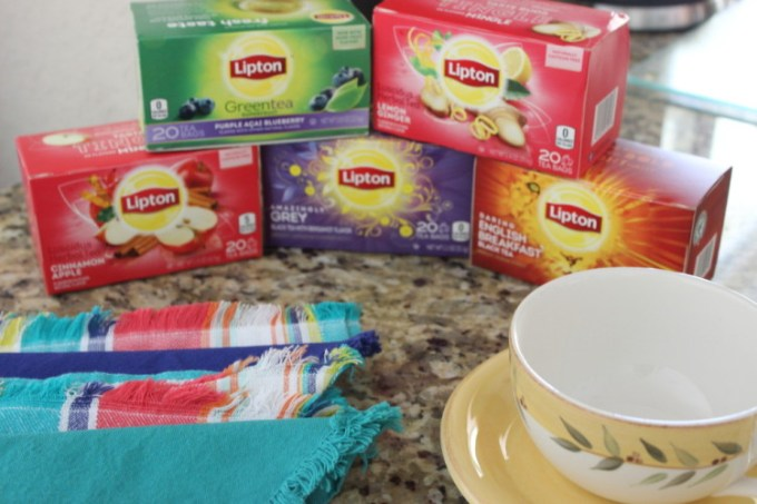 Tea Time with Lipton Tea #LiptonTeaTime