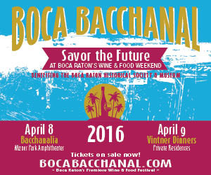 14th Annual Boca Bacchanal Food and Wine Festival