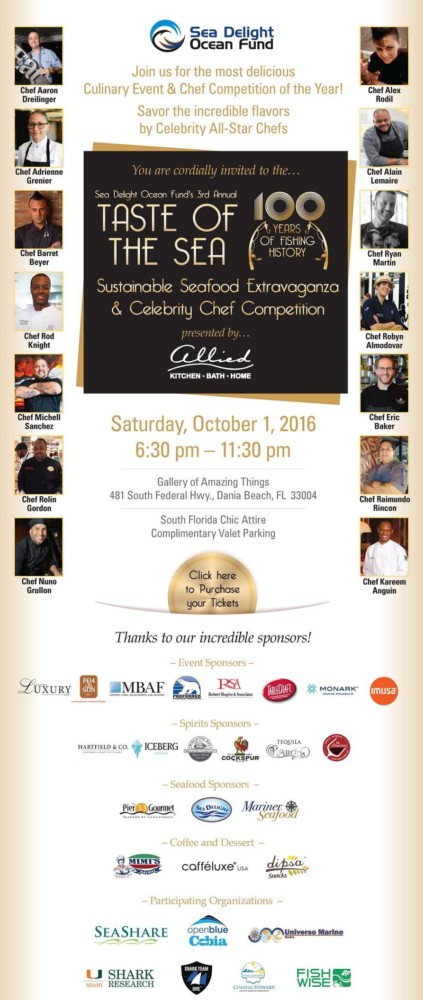 3rd Annual Taste of the Sea 2016