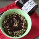 Breakfast Quinoa with Strawberry Bonne Maman Preserves