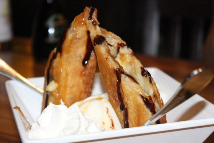 Papa's Raw Bar Banana Cheesecake Dessert