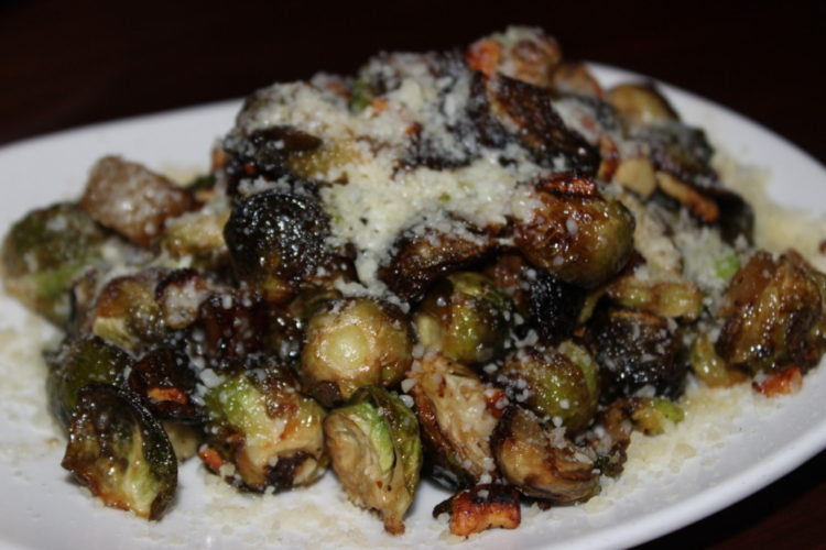 The Tuck Room Crispy Brussels Sprouts