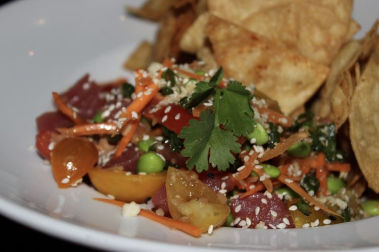 The Tuck Room Ahi Tuna Poke