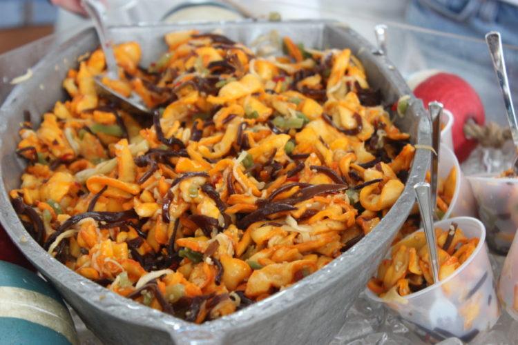 South Beach Seafood Festival Papa's Raw Bar Calamari Salad