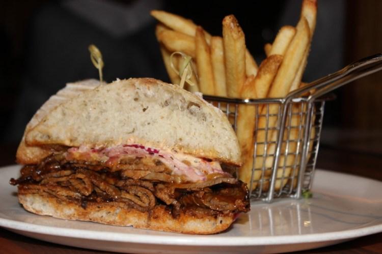 Deck 84 Delray Beach Brisket Sandwich
