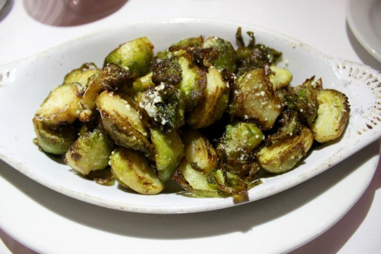 Domus Italian Restaurant and Lounge Boca Raton, Brussels Sprouts