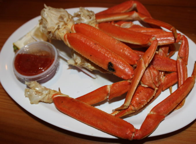 Hooters of Boca Raton, Snow Crab Legs