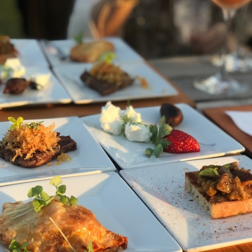 Swank Table Events, Appetizers
