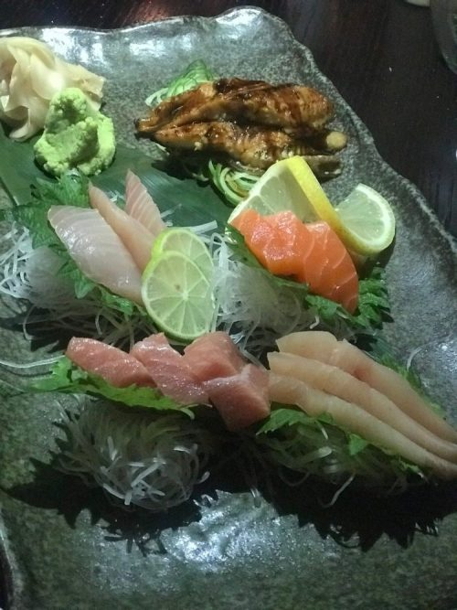 Monkitail, The Diplomat Beach Resort Sashimi