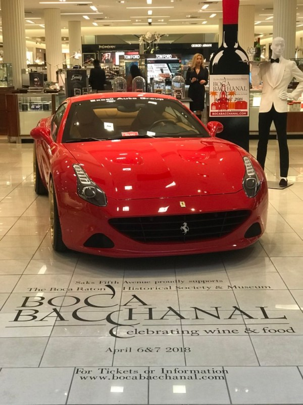 Boca Bacchanal Preview Night, Ferrari