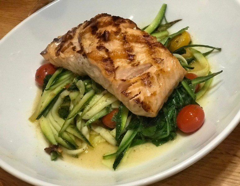 Prezzo Boca Raton, Roasted North Atlantic Salmon